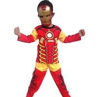 Foto Produk Baju Anak Kostum Topeng Superhero Iron Man - ExtraBubbleWrap dari BelalangKupuKupu
