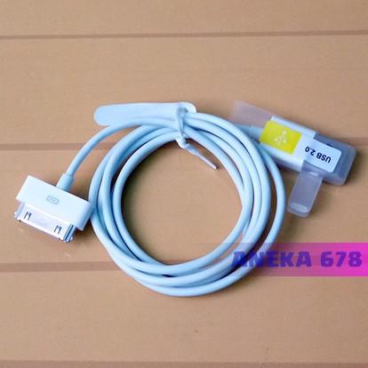 Foto Produk Kabel Data iPhone iPad iPod 30 Pin untuk Transfer Data atau Charge dari ANEKA 678
