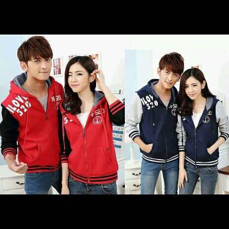 Foto Produk JAKET COUPLE LOVE 520 dari Jakarta Couple