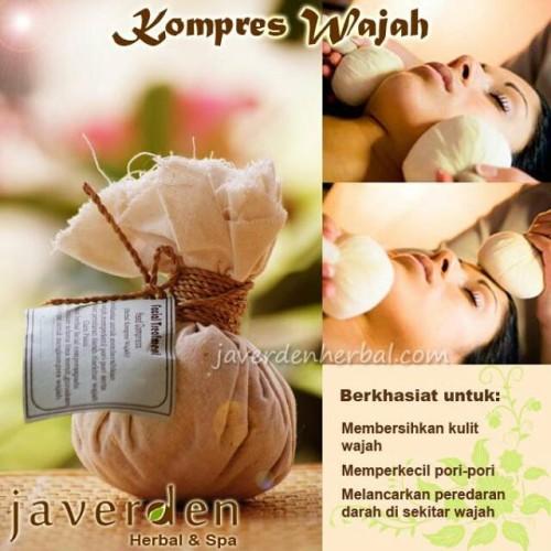 Foto Produk Spa Herbal Face Compress (Kompres Wajah) dari Javerden Herbal