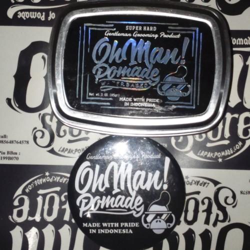 Foto Produk OhMan Pomade (Waterbased Superhard) dari OmiStore