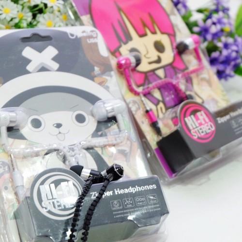 Foto Produk Zipper Earphone Model One Piece dari Elenna-Store