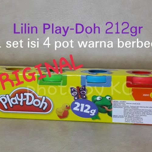 Foto Produk (1set4pot)Lilin Play Doh ORIGINAL 212gr Playdoh Dough Hasbro dari Toko Online Jempol