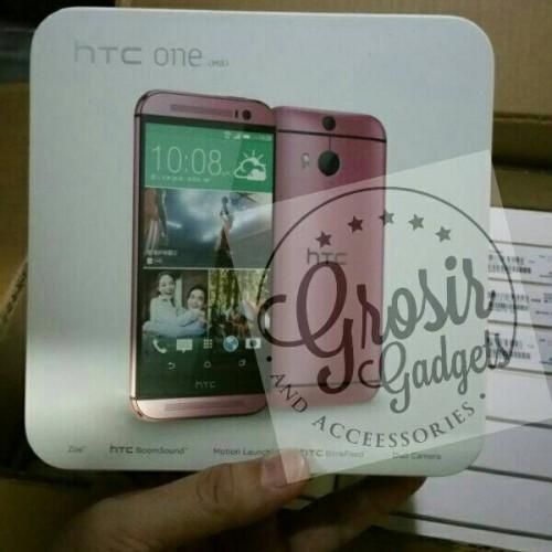 Foto Produk HTC ONE M8 Pink Edition tangan pertama dari JUALGADGETS