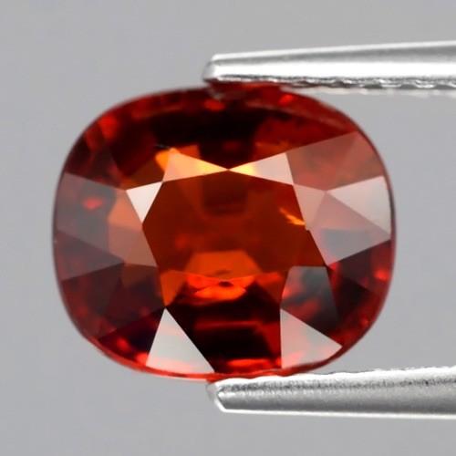 Foto Produk 2.76ct Natural Orange Red Spessartite Garnet Batu Mulia dari AMORETTE SHOP