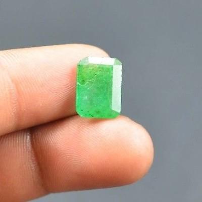 Foto Produk 3.60 Ct Natural Emerald Green Gem Batu Mulia jambrud dari AMORETTE SHOP