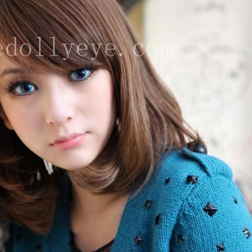 Foto Produk Softlens Bubble / Princess Mint Blue (Biru) dari Geo Eyes