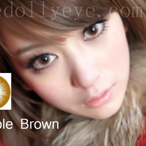 Foto Produk Softlens Bubble / Princess Mint Brown (Coklat) dari Geo Eyes