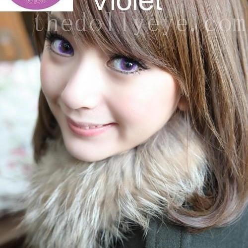 Foto Produk Softlens Bubble / Princess Mint Violet (Ungu) dari Geo Eyes