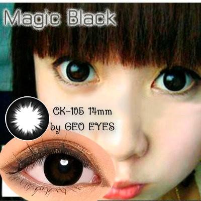 Foto Produk Softlens Geo Magic Black CK-105 14mm dari Geo Eyes