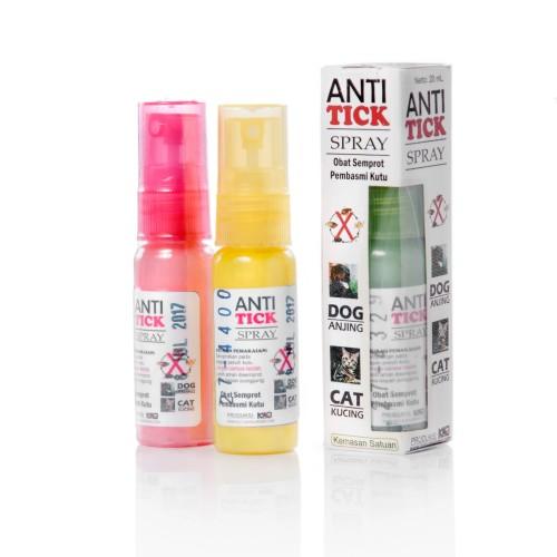 Foto Produk Anti Tick Spray, Obat Semprot Pembasmi Kutu Anjing & Kucing dari Kutu Dan Jamur