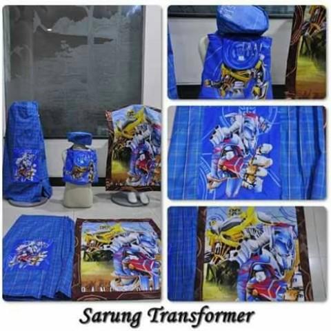 Foto Produk sarung karakter transformer dari Denuza's Store