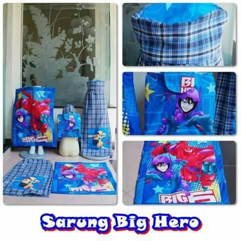 Foto Produk sarung karakter big hero dari Denuza's Store
