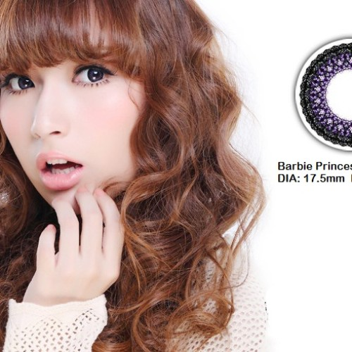 Foto Produk Softlens Barbie Eye Princess Violet (Ungu) dari Geo Eyes