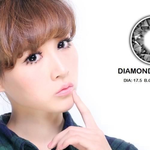 Foto Produk Softlens Barbie Eye Diamond Black (Hitam) dari Geo Eyes