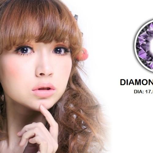 Foto Produk Softlens Barbie Eye Diamond Violet (Ungu) dari Geo Eyes