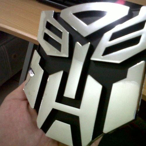 Foto Produk Emblem Transformers Autobot XL dari BOBandPOP