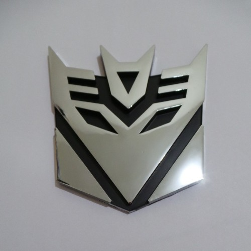 Foto Produk Emblem Transformers Decepticon XL dari BOBandPOP