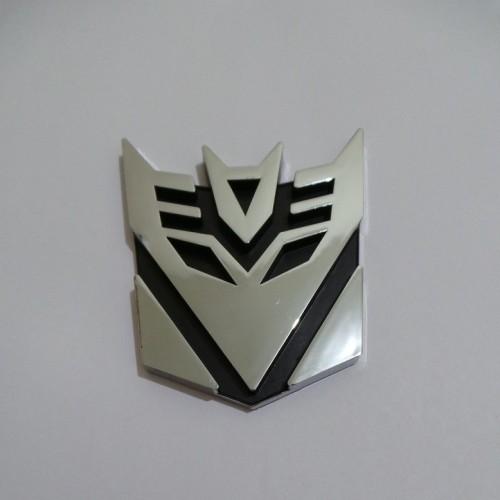 Foto Produk Emblem Transformers Decepticon Medium dari BOBandPOP