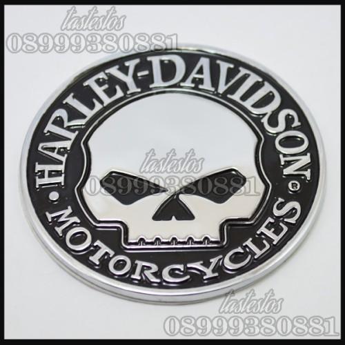 Foto Produk Emblem Harley Davidson Willie G Skull dari TasTesTos