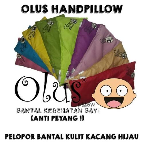 Foto Produk Olus Hand Pillow | Bantal Lengan | Bantal Kulit Kacang Hijau dari Griya Clodi Murah