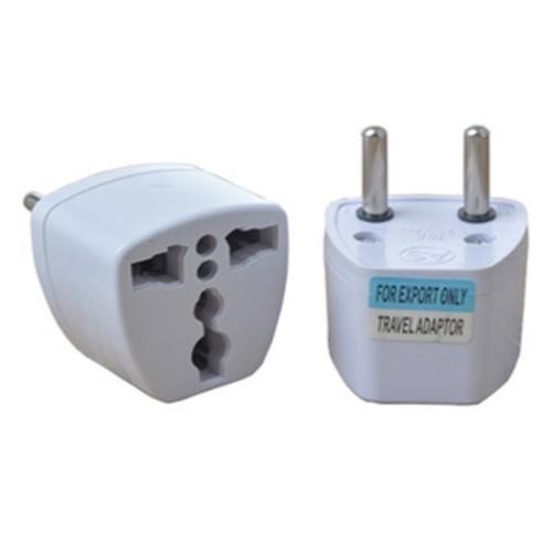 Foto Produk EU 2 Round Plug Adapter to 3 Pin Plug dari ACC Sellular