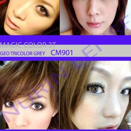 Foto Produk Softlens Geo 3 Tones CM901 dari Geo Eyes