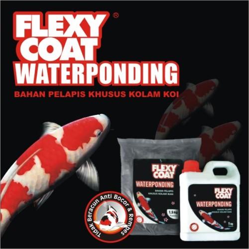 Foto Produk FLEXYCOAT WATERPONDING BLACK 2.5 KG SET dari RH PAINT SHOP