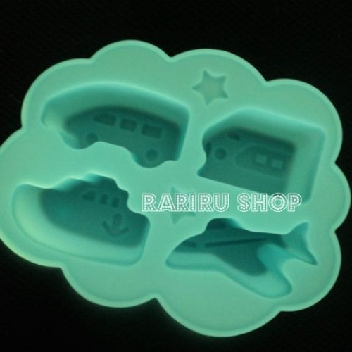 Foto Produk Paku2 Silicon Jelly Cube Transportation dari RaRiRu Shop
