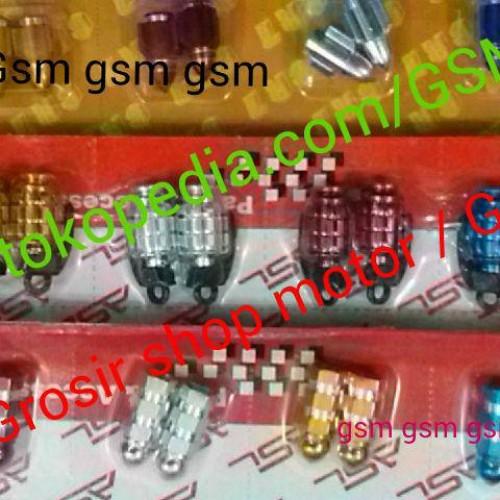 Foto Produk Tutup pentil ban variasi aluminium import warna cnc racing dari Grosir Shop Motor (GSM)