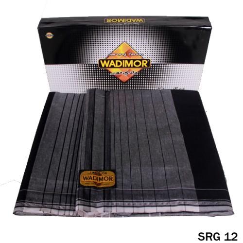Foto Produk Sarung Katun Hitam Nyaman Untuk Sholat SRG 12 dari Gudang Fashion