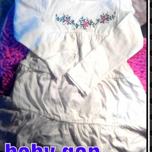 Foto Produk baby gap dress atasan anak perempuan bunga bordir n pink fish dari veshar kids me shop