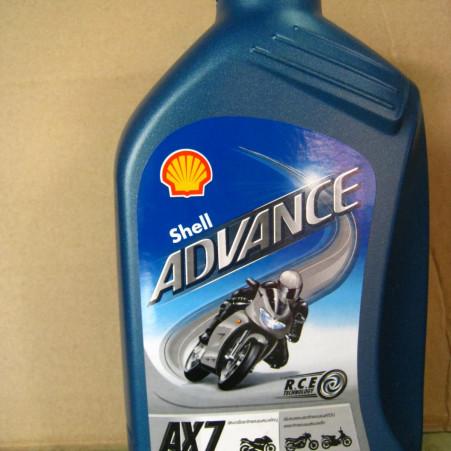 Foto Produk Oli Mesin Shell Advance AX7 (1L) / Shell Advance AX7 10W/40 4T (1L) dari Oli Mania