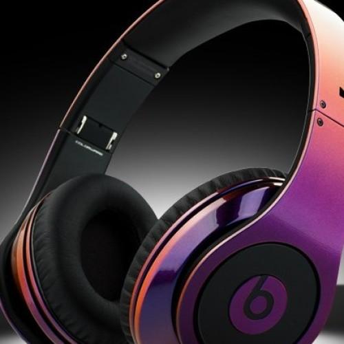 Foto Produk Monster Beats Studio Chrome 2 tone Purple-Black (ungu hitam mix) dari Elenna-Store