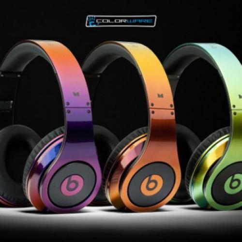 Foto Produk Monster Beats Studio Chrome 2 tone Green-Black (hijau hitam mix) dari Elenna-Store
