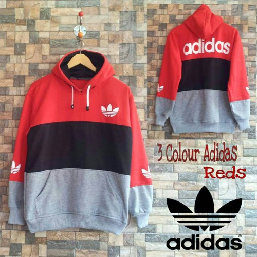 Foto Produk jaket 3 colour adidas red dari Fhasionstore
