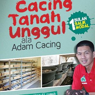 Foto Produk Budi Daya Cacing Tanah Unggul Ala Adam Cacing dari Toko Kutu Buku