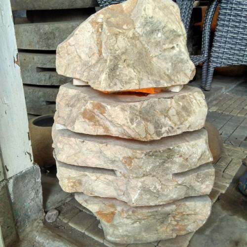 Jual Lampu Taman Batu Alam Marmer Natural Kab Malang Griyawatu Tokopedia