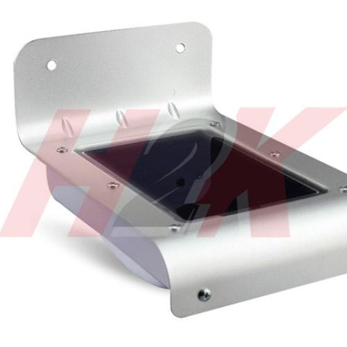 Foto Produk Lampu Dinding 16 LED sensor cahaya solar tenaga surya/matahari dari H2K