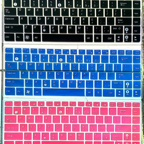 """Foto Produk Keyboard Protector ASUS K40, X45, X84 (14"""") warna - Hitam dari Aiti"""
