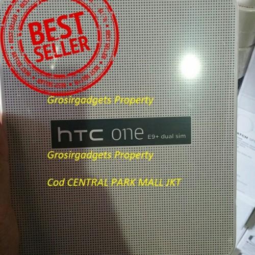 Foto Produk HTC ONE E9+ DUAL SIM GSM LTE, 32GB, 3GB RAM OCTACORE MURAH - Hitam dari JUALGADGETS