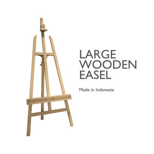 Foto Produk Xpression Wooden Easel - Large Canvas Stand (Lokal) dari Dreamshop