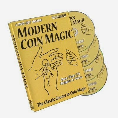 Foto Produk Bobo Modern Coin Magic Vol 1 - 4 Tutorial (4 DVD's) dari Buku Sulap