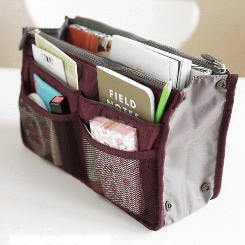 Foto Produk Korean Bag in Bag Organizer Dual Zipper dari Blisfull Shop