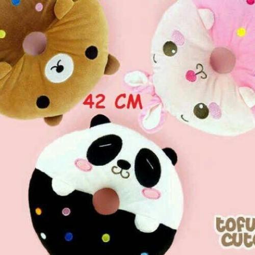 Foto Produk Bantal Panda Donutz dari Snackers Co