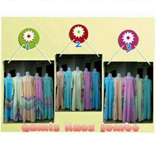 Foto Produk gamis kaos jumbo dari Anggani Shop