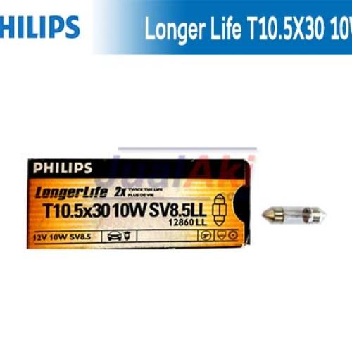 Foto Produk Bohlam Philips T10,5x30 12V 10W Plafon dari JualAki