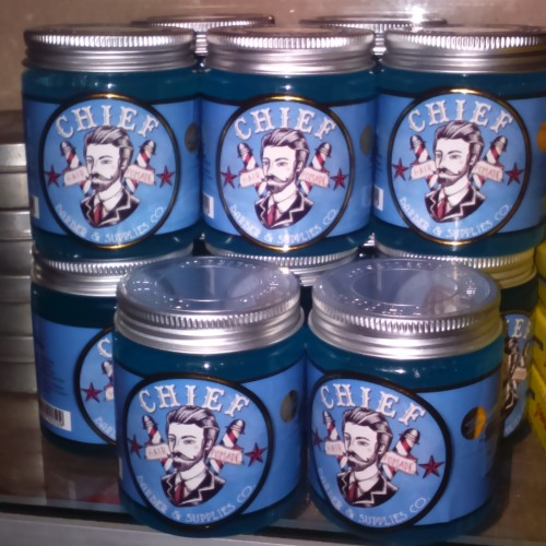 Foto Produk Chief Blue Waterbased Pomade, Made For Every Gentleman dari OmiStore