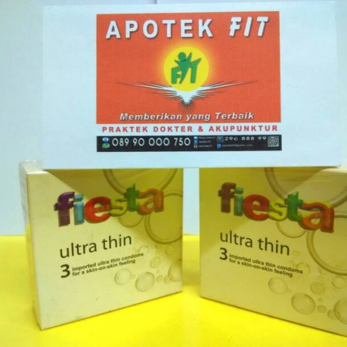 Foto Produk Kondom Fiesta Ultra Thin 3's dari FIT MEDICA