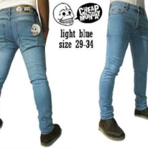 Foto Produk Celana jeans levis pria keren biru langit distro import keren murah dari Young Face Olshop